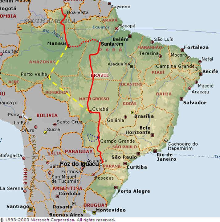 Photo Journal: Northern Brazil , Amazon , Central Brazil